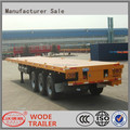 truck trailer type 40 ft flatbed semi trailer
