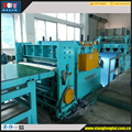 Servo motor cut to length machine line for cutting the coil steel