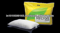 white plain pillow