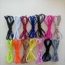 NM0004 Latex Coloured 2.5mm Strong Bungee Round Elastic Rope New products Decorative Polyester Elastic Rope
