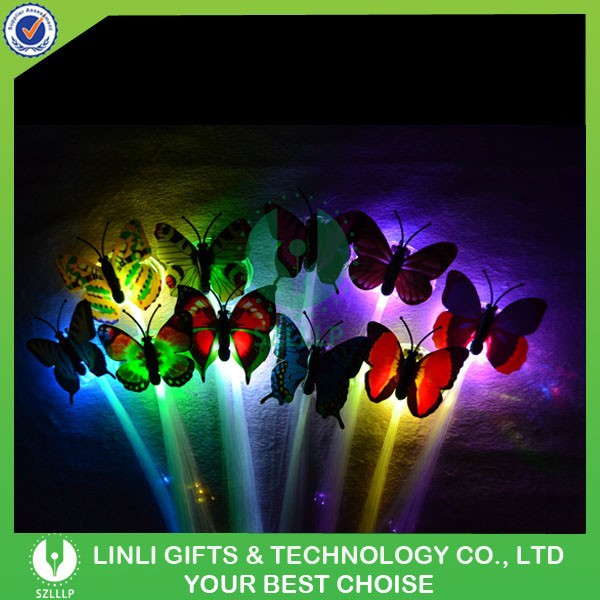 Color Changing Butterfly Flashing Braid