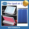 New product!!! 3 Floding and stand flip leather case for ipad air 2,for ipad 6