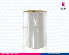 transparent CPP food grade plastic packaging roll film