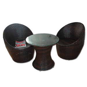custom handmade summer pp rattan garden furniture