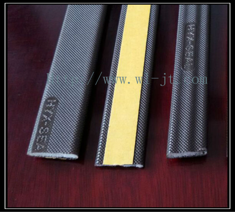 Factory customized flexible plastic desk edging strip RS11