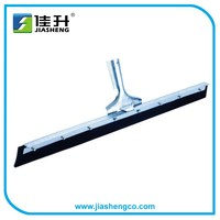 Industrial heavy-duty curved rubber blade squeegee/Floor Squeegee