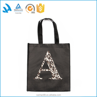 Large wholesale plastic shopping bags with custom logo
