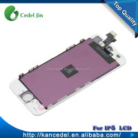 For iphone 5 Original New LCD Touch Screen Display Digitizer Assembly White / Black Color lcd screen