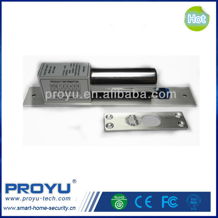 PROYU 2 line 12v Access control Fail Safe Electric Drop Bolt Door Lock