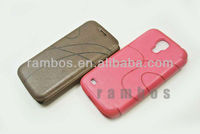 New Ultra Thin Magnetic Flip Leather Mobile Phone Case Cover for Samsung Galaxy S4 Mini i9190