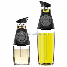 Oil and Vinegar Dispenser Set with Drip-Free Spouts - Olive Oil Dispenser Bottle for Kitchen