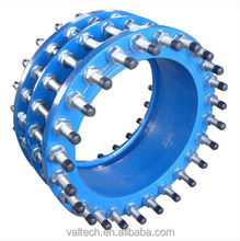 free trouble safe handling usage water treatment ductile iron pipe fittings Dismantling Joint