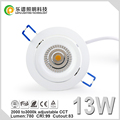 Norge CRI 99cob downlight dimmable Sunset 13w 83mm Cutout 2000-2800k Dim to warm TUV SAA