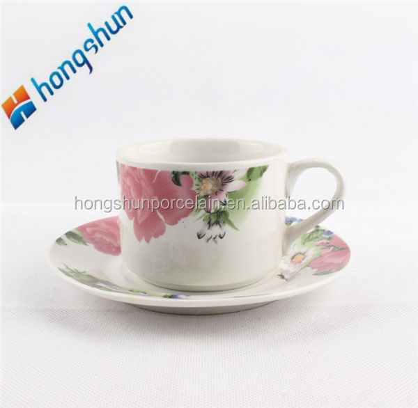 220ml coffee cup/porcelain saucer/cup and saucer