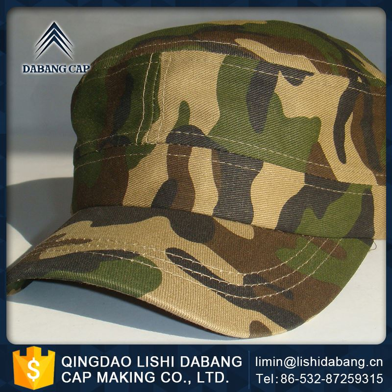 Fashion Style Embroidered Military Hats