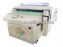 A0 flatbed eco solvent printer print size1118* 2500mm LK9880 8 colors High quality with high resolution silicon phone case
