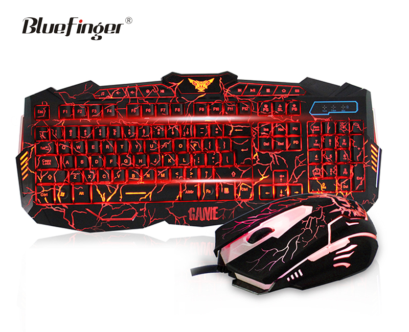 Professional led gaming keyboard and mouse with A Discount