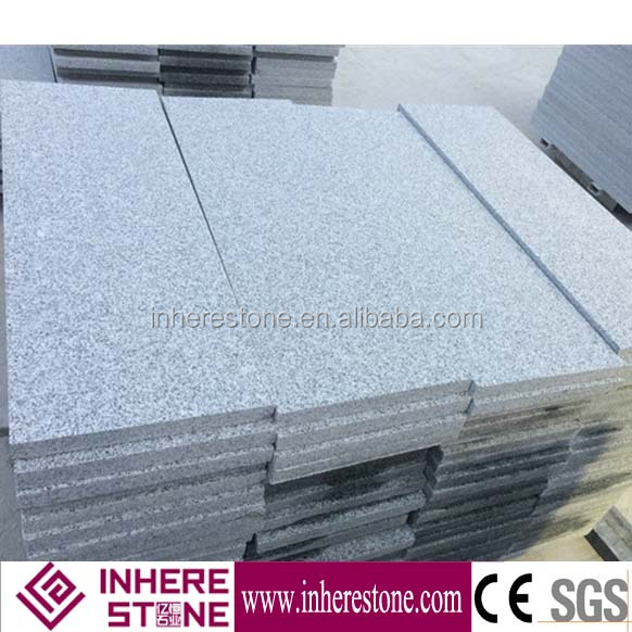 Chinese grey granite G603 Flamed G603 Grey Stone Stair /riser /Step Price