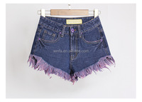 2016 Fashion Summer Low Waist Denim Short Jeans Pant Hot Girls Sexy Board Shorts Ladies Short Jeans Top Design