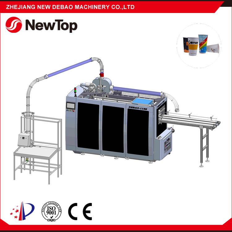 NewTop ODM Design Automatic Paper Cup And Plate Making Machine Exported to Taiwan India