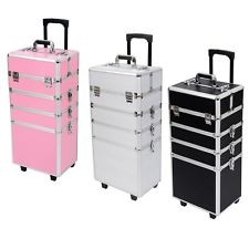2016 Hot Selling New Style Beauty Rolling aluminum Cosmetic Case with factory price