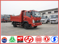 China sinotruck CDW LHD 6 wheel dump truck sale
