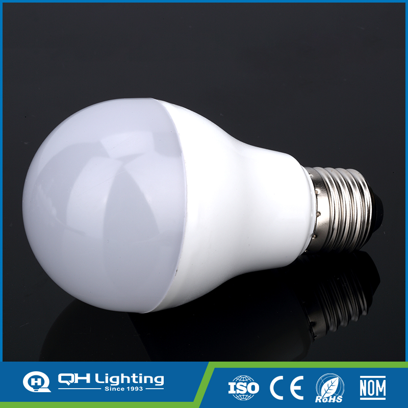 Easy to install led 9W energy saving plastic lamp bulb cover