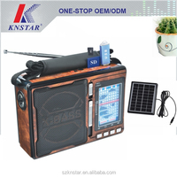 Solar power mp3 player AM/FM/SW1-8 10 band radio