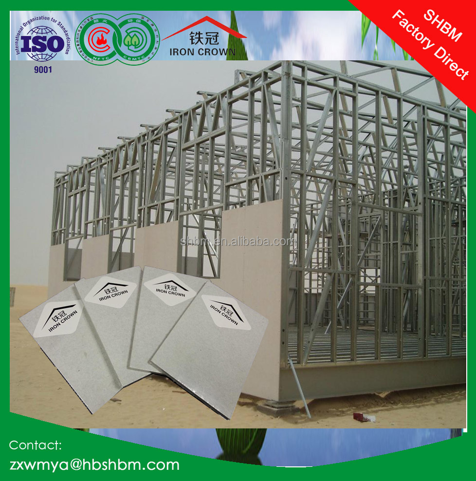 "1220*2440* 18mm 4""x8"" non asbestos fire-rated calcium silicate board"