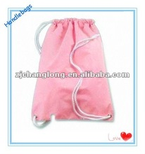 Pink Pretty Nylon drawstring Bag