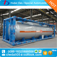 20ft 30ft 40ft ISO fuel LPG Oil Propane storage tank container iso tank container for sale