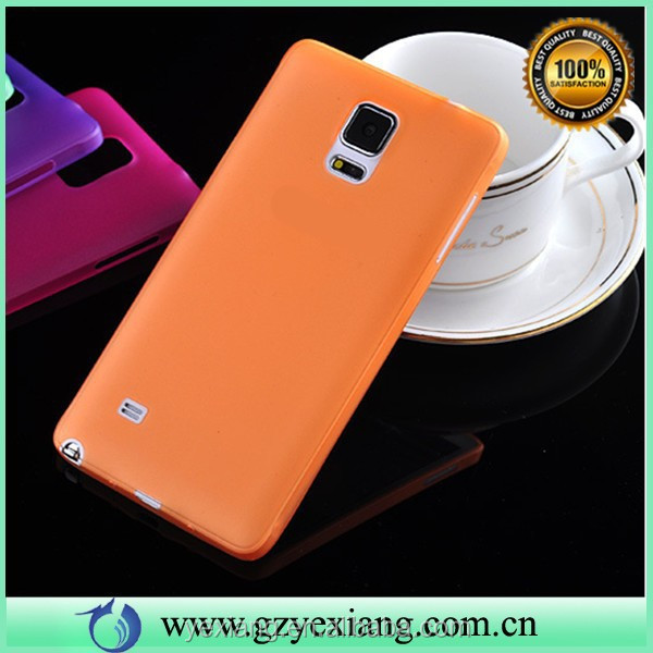 Shock Proof TPU Case For Samsung Galaxy Note 4 N9100 Factory Price Cover