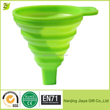 Silicone Collapsible Funnel for Liquid Transfer by Icicle
