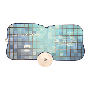 Customized Recyclable Tyvek Printed Car Windscreen Sunshade