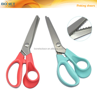 SPI0006 CE certificated 7 Inch Stainless Steel Decorative Fabric Edge Pinking Shears Scissor New
