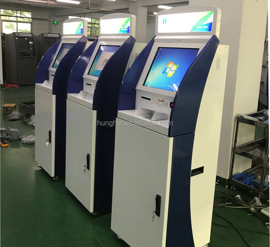 Customizable Touch Screen Member cards or Mobile phone top up kiosk machine