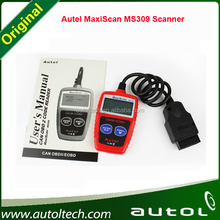 MaxiScan MS309 all OBD II compliant vehicles sold worldwide since 1996 + free shipping Autel CAN OBDII CODE READER