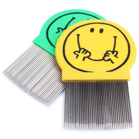 Animal Products Lice Comb Nit Free Terminator Stainless Steel Pet Dematting Comb