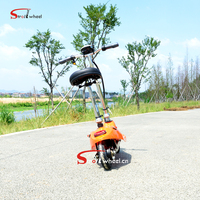 Adult 8inch 250w 24v 2 wheel folding mypet portable electric scooter