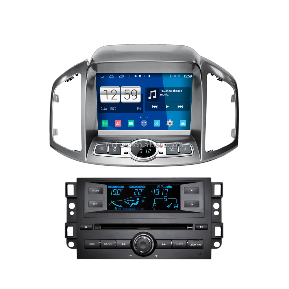 4-Core android car gps navigation for CHEVROLET Captiva 2011 with 1024*600 HD Touch Screen built-in WIFI Bluetooth