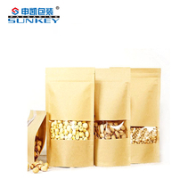 Good Supplier Kraft Paper Stand Up Pouch Bags