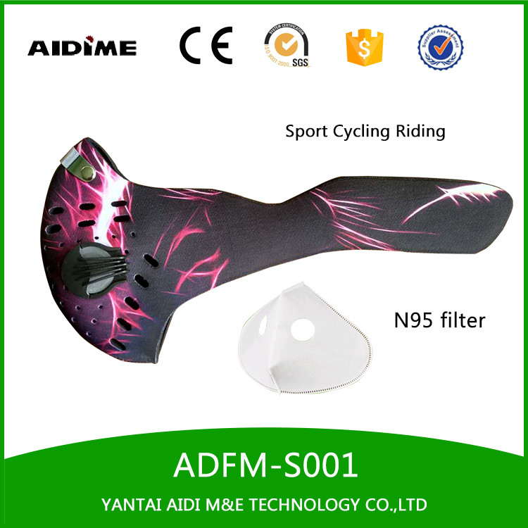 Excellent Quality Custom Printing Neoprene Motorcycle half Face Mask