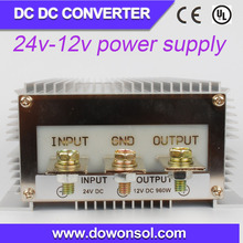 alibaba china 1000w converter 24volt to 12volt dc power supply module boost converter high output input voltage