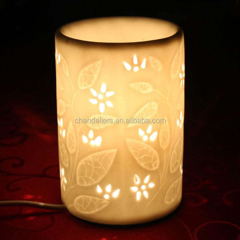 Lampade per aromi elettrico in ceramica bruciatori a nafta for Basi in ceramica per lampade da tavolo