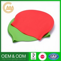Fashion Style Custom Colorful Personalized Design Silicone Swimming Hat