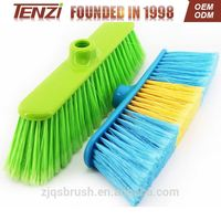 home Cleaning wood double bed models plastic broom