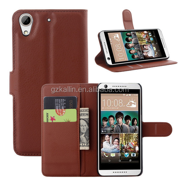 paint pu leather phone case cover for htc desire 826