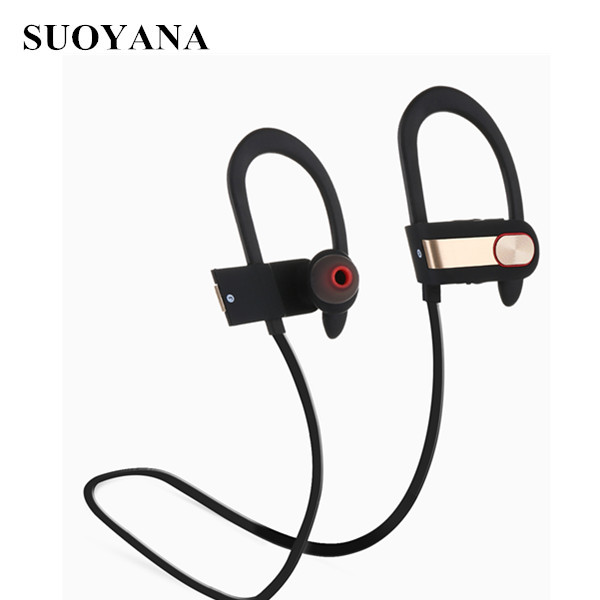 Ear hanging headphone high quality sport wireless bluetooth headphones for laptop