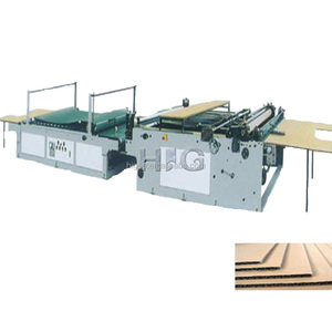 Automatic carton flute laminating machine single facer forming machine