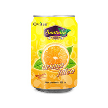 325ml Bulk orange flavored juice brand drinks for sale